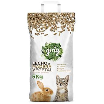 Goig Vegetal Pressed Wood Pellets (Small pets , Birds , Bedding , Bedding & Litter)