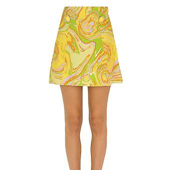 Mulberry Ezgl115014 Women's Yellow Viscose Skirt