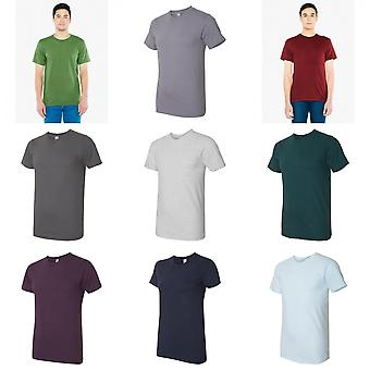 American Apparel Mens fin Jersey Tee
