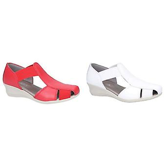 The Flexx Womens/Ladies Mr T Tivoli Slip On Leather Sandal