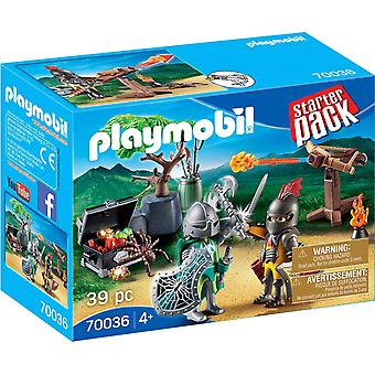 Playmobil 70036 Starter Pack Knight's Treasure Battle 39PC Playset