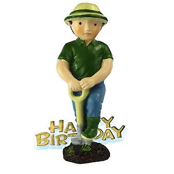 Creative Gardener Design Birthday Party Cake Topper