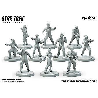 The Next Generation Away Team Miniatures Star Trek Adventures