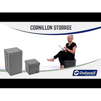 Outwell Cornillon Foldable M Seat & Storage Box Grey