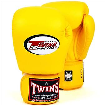 Twins special yellow boxing gloves