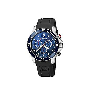 Wegner Quartz Chronograph Watch Unisex Silicone wrist watch 01.0643.110