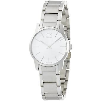 Calvin Klein K2G23126 City wristwatch, female, silver