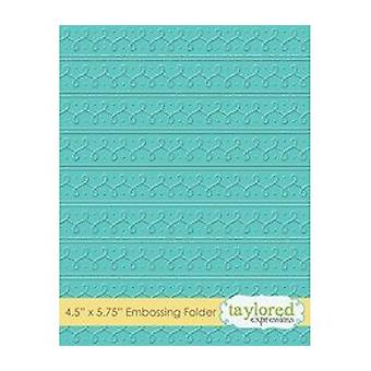 Taylored Expressions Loopy Loops Embossing Folder (TEEF62)