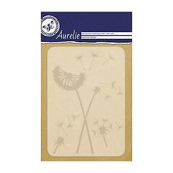 Aurelie Dandelion Whisper Background Embossing Folder
