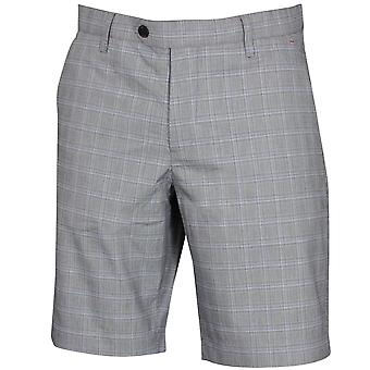 Ted Baker Mens 2020 Waltr Microfibre Chequeered Stretch Golf Shorts