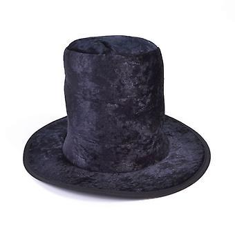 Hoge hoed. Childs Black Velvet