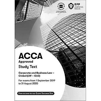 ACCA Corporate and Business� Law (Global): Study Text