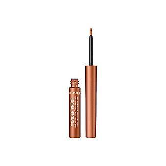 Eyeliner Wonder'proof Rimmel London (1,4 ml)/001 - true copper