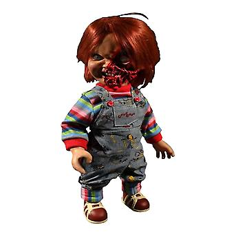 "Child-apos;s Play 3 Chucky Pizza Face 15"" Talking Action Figure"