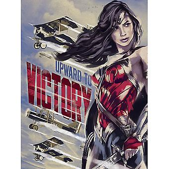 Wonder Woman Upward To Victory Canvas Plate 60*80cm