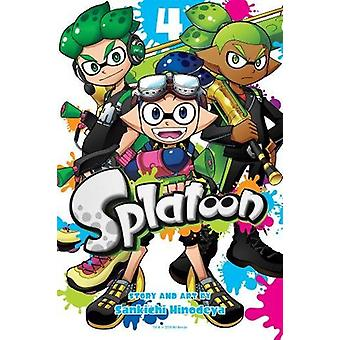 Splatoon - Vol. 4 by Sankichi Hinodeya - 9781974701865 Book