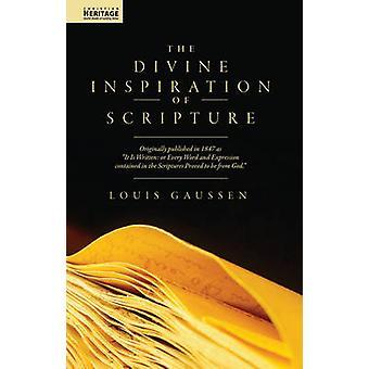 Divine Inspiration of Scripture by Louis Gaussen - 9781857924497 Book