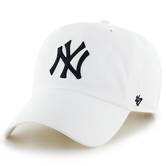 47 fire Adjustable Cap - CLEAN UP New York Yankees white