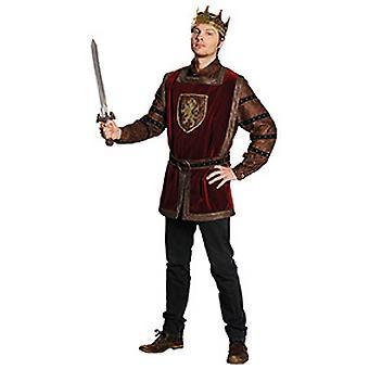 Strój męski Arthur King, król średniowieczny zamek Zamek