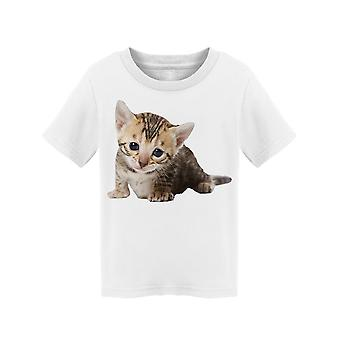 Adorably Tiny Bengal Kitty Tee Toddler's -Image by Shutterstock