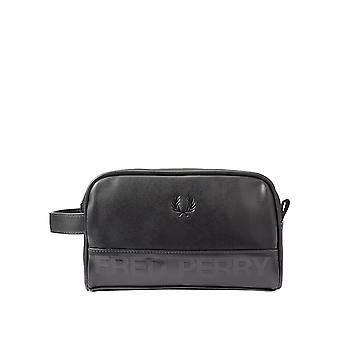 Fred Perry Men's Embossed Wash Bag 23Cm