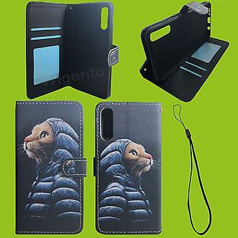 Für Xiaomi Redmi Note 9S Kunst-Leder Handy Tasche Book Motiv 53 Schutz Hülle Case Cover Etui Neu