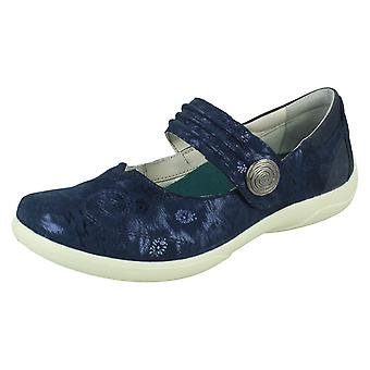 Ladies Padders Mary Jane Style Flats Poem