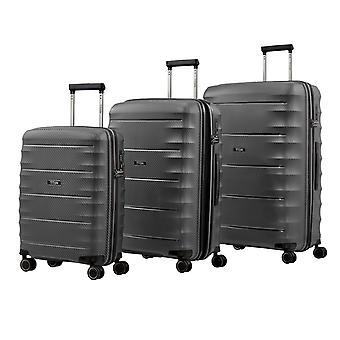 TITAN Highlight Case Set 3 piezas S-M-L, Gris