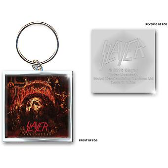 Slayer Keychain Repentless band logo new Official Metal Keyring