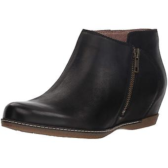 Dansko Womens Leyla Leather Closed Toe Ankle Fashion Boots