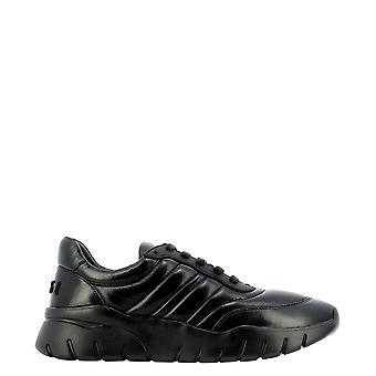 Bally 6234554 Men's Black Leather Sneakers