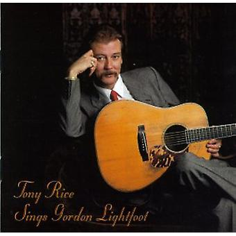 Tony Rice - importation USA chante Gordon Lightfoot [CD]