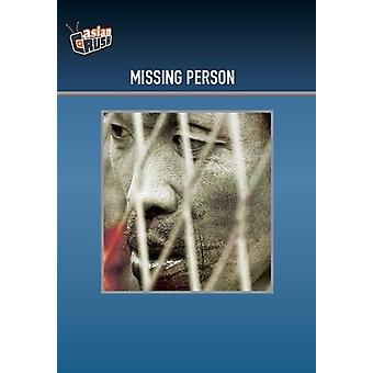 Missing Person [DVD] USA import