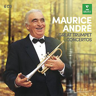Maurice Andre - Great Trumpet Concertos [CD] USA import
