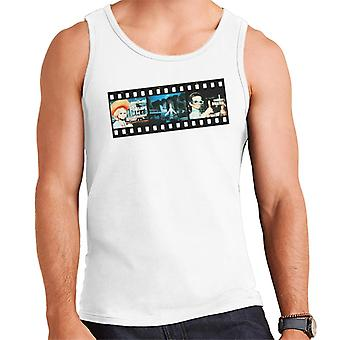 Thunderbirds Film Strip Design Men's Weste