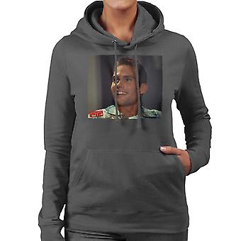 American Pie Stifler Smiling Women's Hooded Sweatshirt