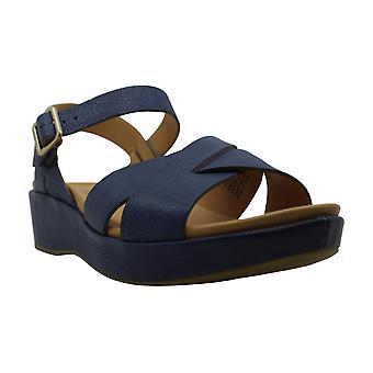 Kork-Ease Womens Myrna Leather Open Toe Casual Slingback Sandals