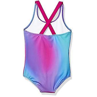 أساسيات فتاة & apos;ق ملابس السباحة قطعة واحدة, أومبر بيربل, X-كبيرة