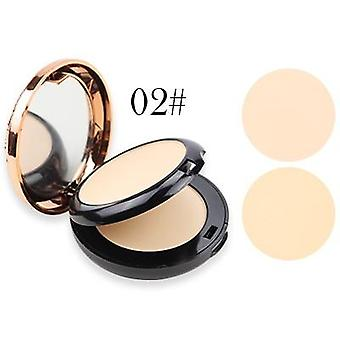 Beauty Glazed Professional Full Coverage Long Lasting Makeup - Face Powder Compact Pressed Powder
