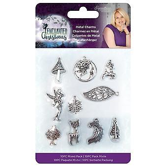 Crafter's Companion Enchanted Christmas Metal Charms