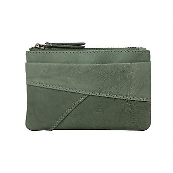Primehide Small Coin Purse RFID Blocking Leather Change Pouch Ladies 6502