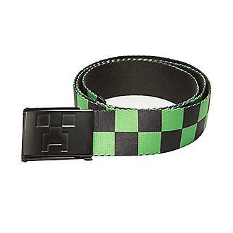 Belt - Minecraft - Creeper Web Checker Large L size j6627-l