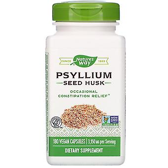 Nature's Way, Psyllium Seed Husk, 3,150 mg, 180 Vegan Capsules