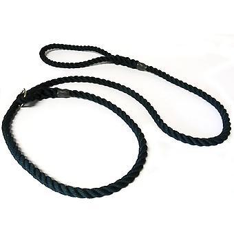Kjk Ropeworks Tout-en-un Slip Lead (12mm x 120cm) - Noir