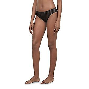 Kenneth Cole New York Women's Hipster Bikini Swimsuit Bottom, Black // Off The Grid, Small