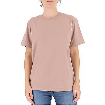 Alexander Wang.t 4cc1201152260 Kvinnor's Rosa Bomull T-shirt