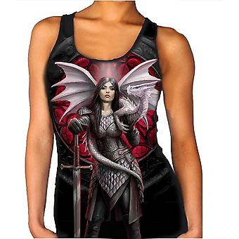 Wild star - valour - womens vest top  available in plus sizes