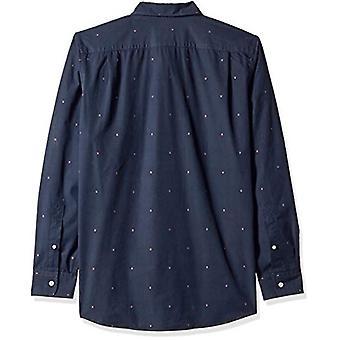Goodthreads الرجال & apos;ق القياسية صالح طويل الأكمام دوبي قميص, -سهم البحرية, XXX-Large