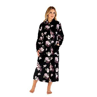 Slenderella HC66311 Women's Floral Dressing Gown