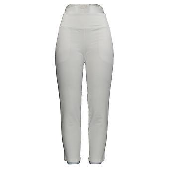 Women with Control Women's Pants Petite Ankle W/ Pocket White A385205